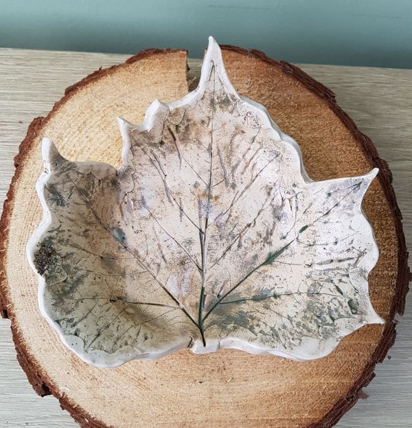maple leaf dish
