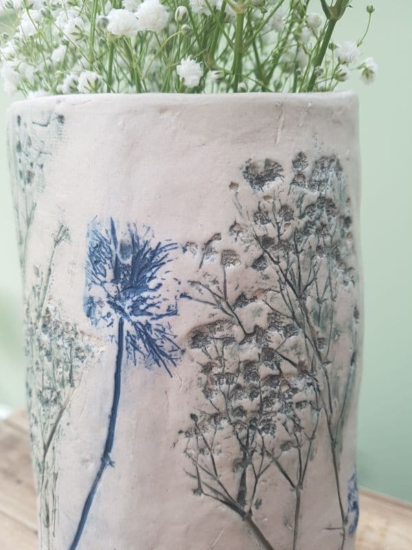 grey gypsophila clay imprint