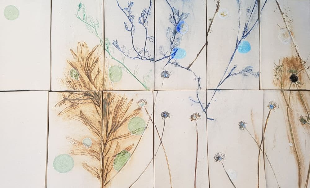 handmade ceramic wall tiles