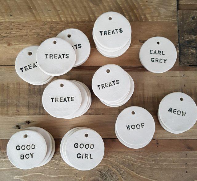 personalised ceramic labels