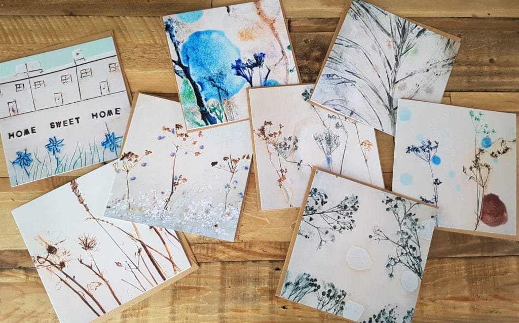 floral card designs