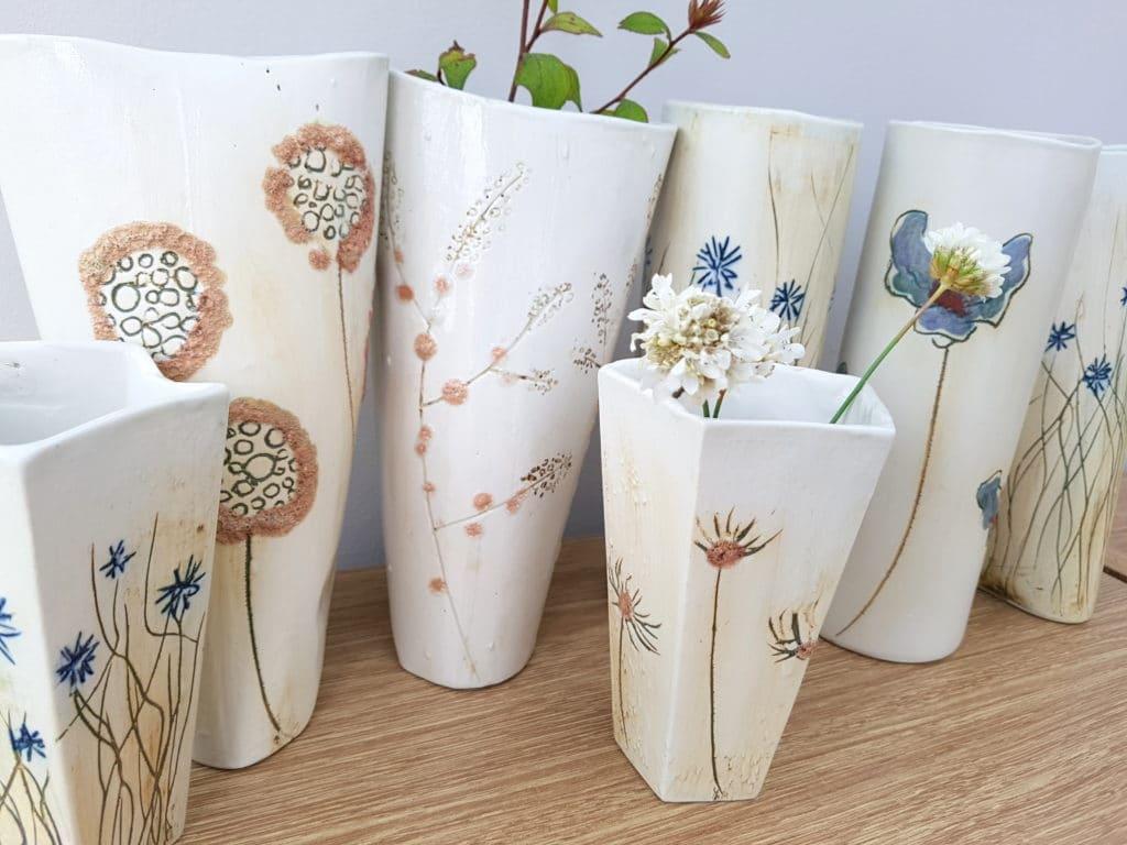 bespoke ceramic vases