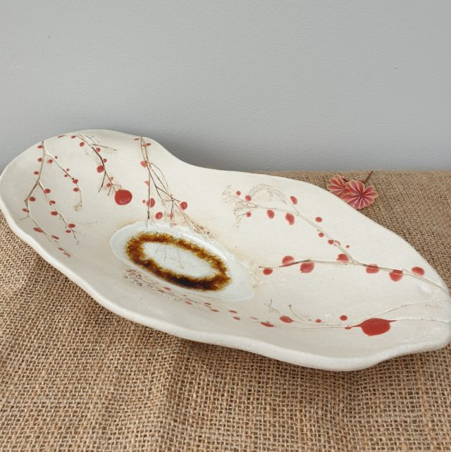 red berries bowl