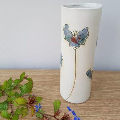 flowers ceramic vase