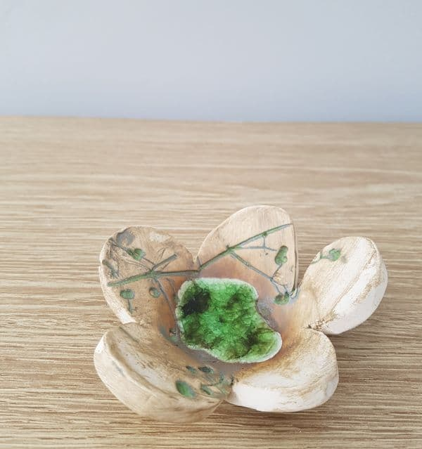 flower ring dish