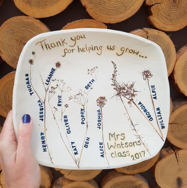 teacher school class bowl gift