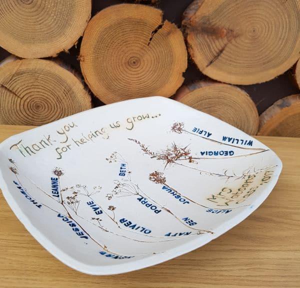 school class personalised bowl