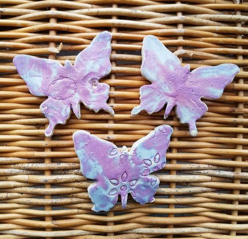 ceramic butterfly magnets