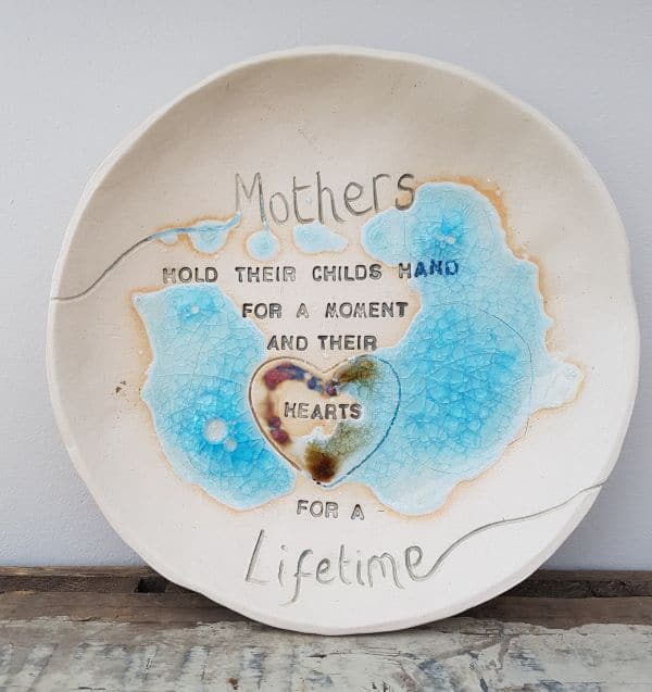 personalised ceramic bowl gift