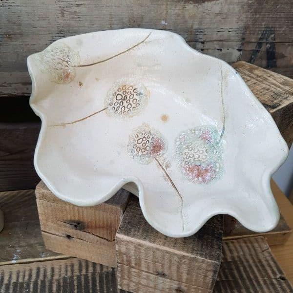 wavy dandelion bowl