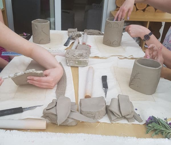 pottery classes Daventry