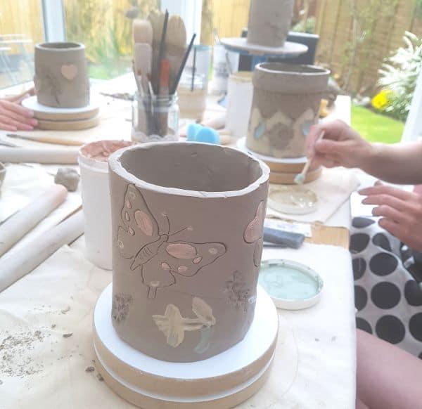 pottery class Northampton