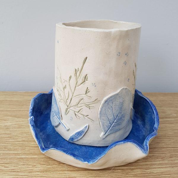 ceramic plant pot workshop Northampton