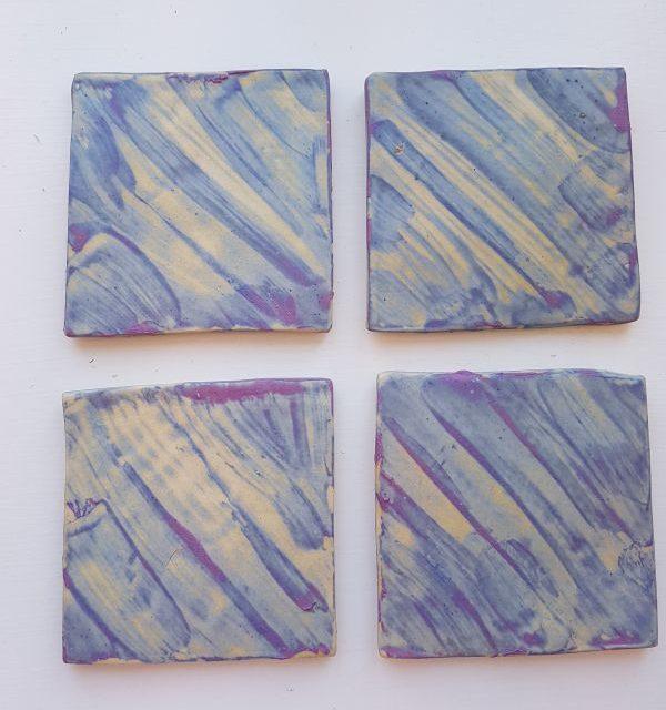 square tutti frutti ceramic tiles
