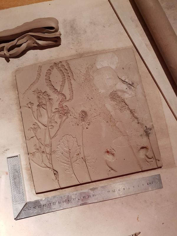 wedding bouquet tile keepsake commission
