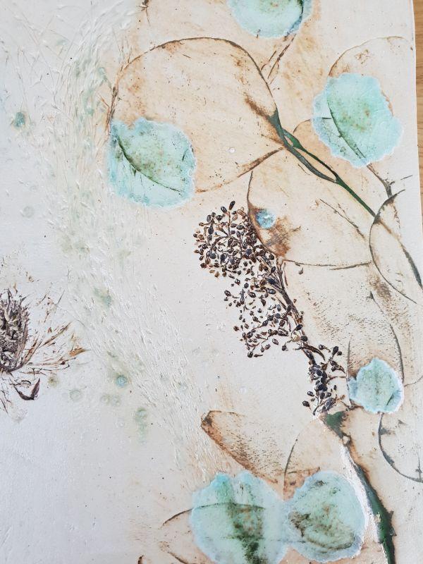 bespoke wedding flowers tile commission