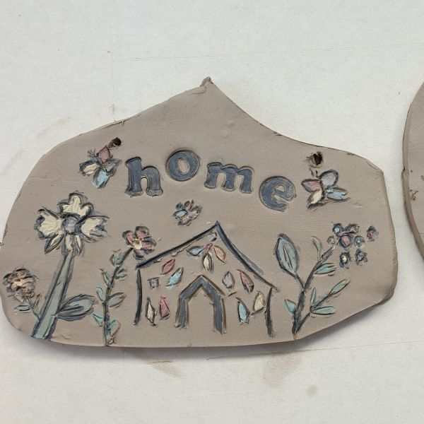plaque pottery workshop Northamptonshire